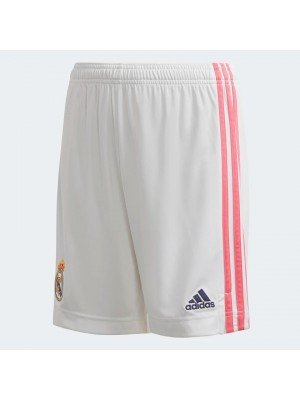 Real Madrid home shorts - youth