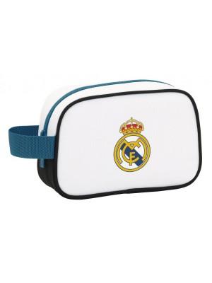 Real Madrid washbag - white - 22X15X12 cm