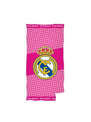 Real Madrid towel pink