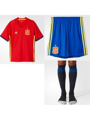 Spain home kit World Cup 2014 youth