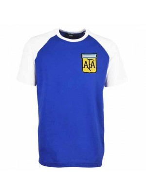 Argentina 1986 World Cup Away Maradona 10 Football Shirt