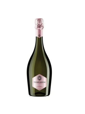 Temelion Brut Rose Russisk champagne