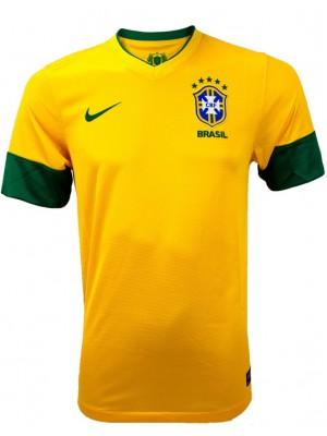 Brazil home jersey 2013-14 replica