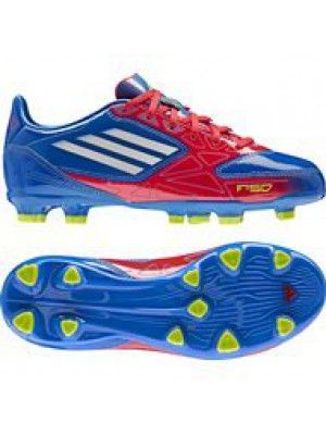 F10 FG Messi firm ground boots - youth - blue