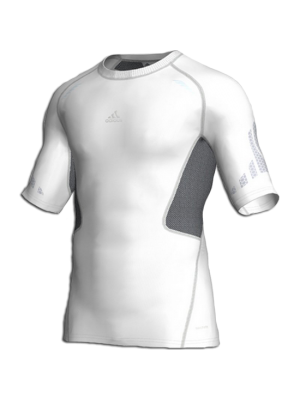 compression shirt - white