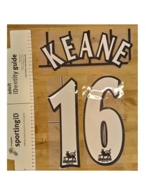 W/B Premier League 1994-2007 - Keane 16