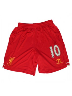 Liverpool home shorts - 10