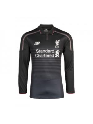 Liverpool 3. trøje Lange Ærmer 2015/16 - børn