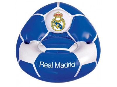 Real Madrid oppustelig stol - Inflatable Chair