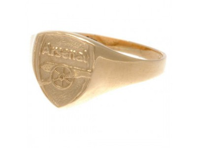 Arsenal ring - 9Ct Gold Crest Ring Large