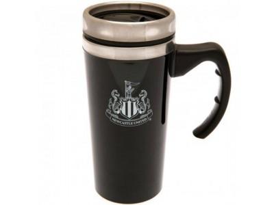 Newcastle United krus - Aluminium Travel Mug