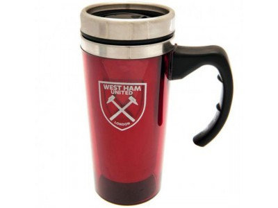 West Ham United krus - Aluminium Travel Mug