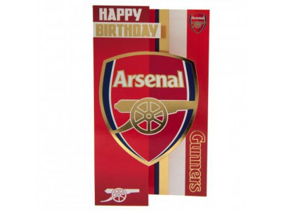 Arsenal fødselsdagskort - Birthday Card