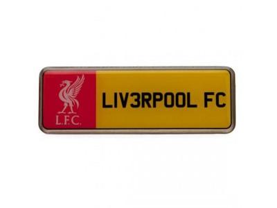 Liverpool FC nummerplade - Badge