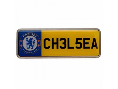 Chelsea nummerplade - Number Plate Badge