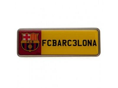 FC Barcelona nummerplade - Number Plate Badge