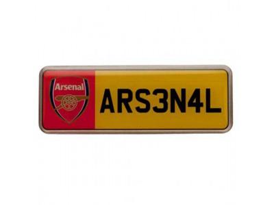 Arsenal nummerplade badge - Number Plate Badge