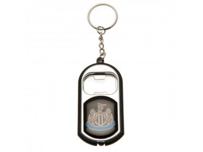 Newcastle United flaskeåbner - Key Ring Torch Bottle Opener