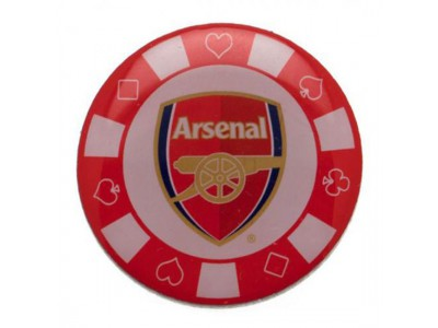Arsenal - Poker Chip Badge