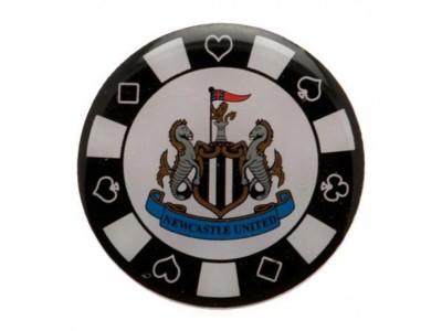 Newcastle United badge - Poker Chip Badge