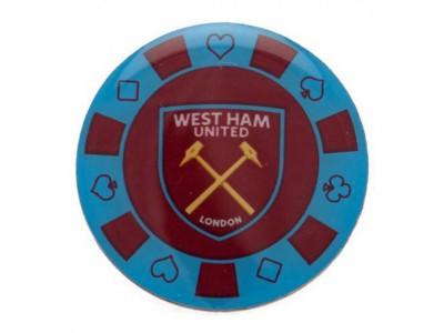 West Ham United jeton - Poker Chip Badge