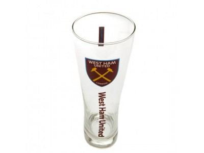 West Ham ølglas - Tall Beer Glass