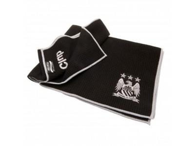 Manchester City håndklæde - Aqualock Caddy Towel