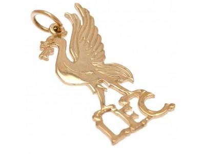 Liverpool FC 9 karat guld - 9ct Gold Pendant Liverbird
