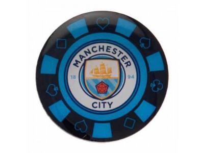 Manchester City jeton - Poker Chip Badge