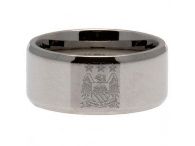 Manchester City ring - MCFC Band Ring - Small EC