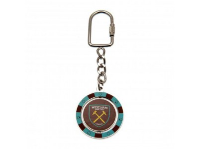 West Ham nøglering - Spinner Keyring PC