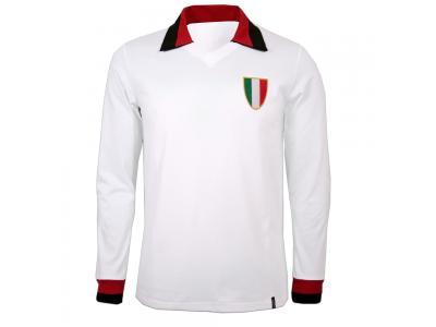 AC Milan ude retrotrøje med lange ærmer - 1960erne