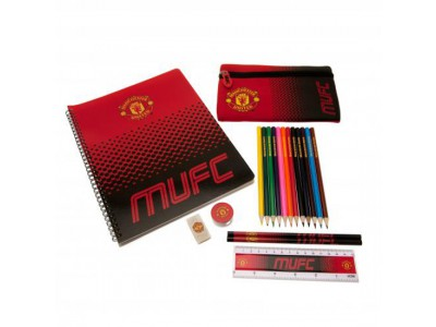 Manchester United skrivesæt - Ultimate Stationery Set FD
