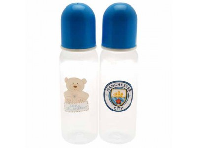 Manchester City FC 2pk Feeding Bottles