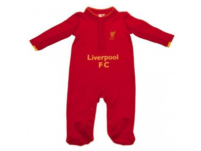 Liverpool sovedragt - LFC Sleepsuit 6/9 Months GD