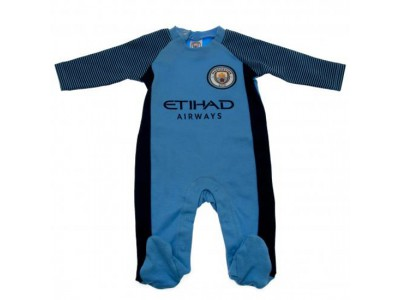 Manchester City sovesæt - Sleepsuit 9/12 Months ST