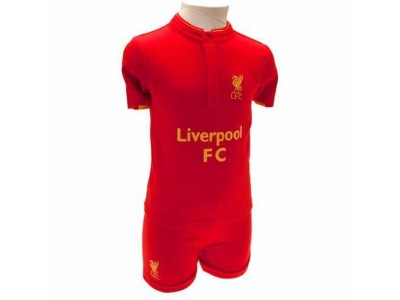 Liverpool baby sæt - LFC Shirt & Short Set 2/3 Years GD