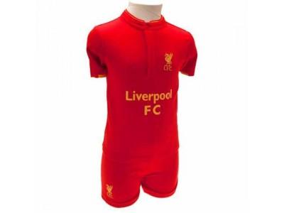 Liverpool baby sæt - LFC Shirt & Short Set 6/9 Months GD