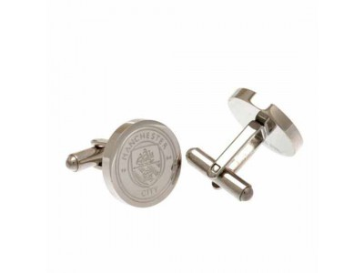Manchester City FC Stainless Steel Cufflinks CR