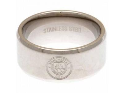 Manchester City ring - Band Ring Medium