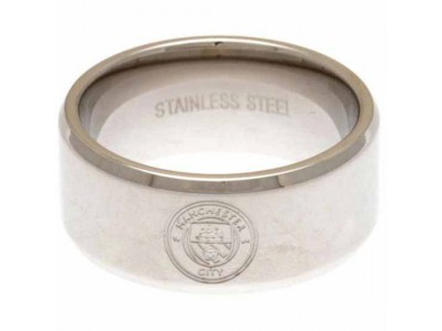 Manchester City ring - Band Ring Large
