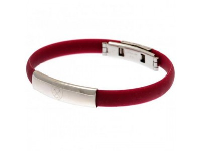 West Ham armbånd - Colour Silicone Bracelet