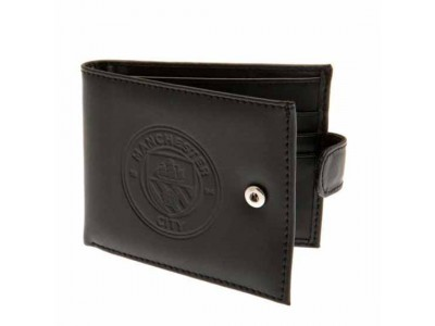 Manchester City pung - Embossed Leather Wallet 805