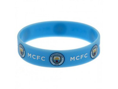 Manchester City armbånd - Silicone Wristband