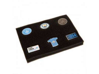 Manchester City badge sæt - 6 Piece Badge Set
