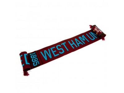 West Ham halstørklæde - Scarf NR