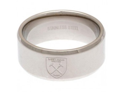 West Ham ring - Band Ring - Medium