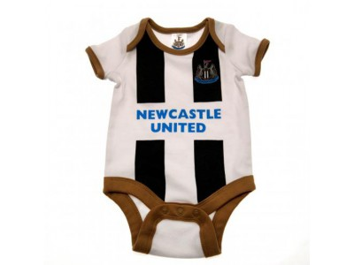 Newcastle United - 2 Pack Bodysuit 12/18 Months GD