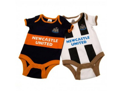 Newcastle United - 2 Pack Bodysuit 9/12 Months GD