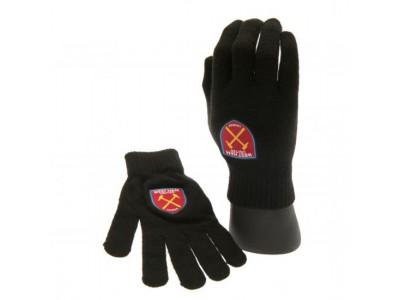 West Ham handsker - Knitted Gloves - børn